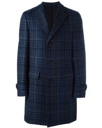 Salvatore Ferragamo Checked Coat