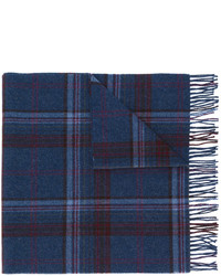 Polo Ralph Lauren Checked Fringed Scarf