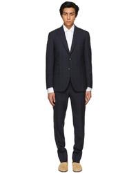 Brioni Blue Check Pre Couture Suit