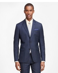 d6a39a66c20 Brooks Brothers Milano Fit Windowpane 1818 Suit