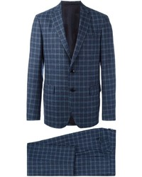 Etro Checked Two Piece Suit