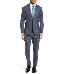 Michael Bastian Michl Bastian Classic Fit Check Wool Suit