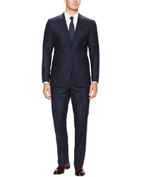 Wool Optic Check Bowery Fit Suit