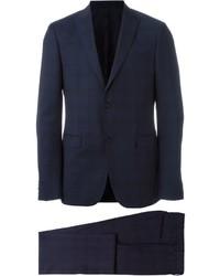 Z Zegna Tonal Check Suit