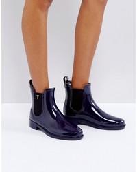 Ted Baker Lyran Navy Chelsea Wellington Boots