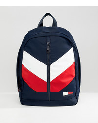 Tommy Hilfiger Chevron Flag Backpack In Blue