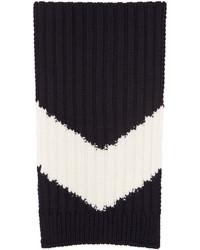 Navy chevron scarf medium 700560