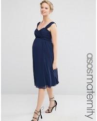 e062df2baf54e Asos Chiffon Ruched One Shoulder Midi Dress Out of stock · Asos Maternity  Wedding Chiffon Bandeau Midi With Ribbon