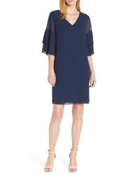 Sam Edelman Pleat Sleeve Shift Dress
