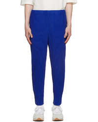 Homme Plissé Issey Miyake Blue Monthly Color July Trousers
