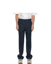 Acne Studios Blue Tailored Trousers