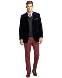 Brooks Brothers Milano Fit Vintage Chinos