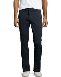 J Brand Brooks Slim Fit Chino Trousers Federal Blue