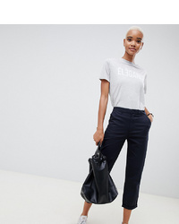 ASOS DESIGN Chino Trousers In Navy