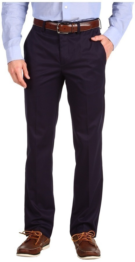 Dockers Iron Free D1 Slim Fit Flat Front Apparel