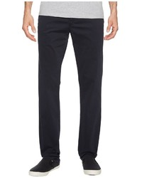 AG Adriano Goldschmied Lux Khaki Tailored Trousers In New Navy Casual Pants