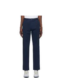 Maison Margiela Navy Chino Trousers