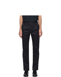 Saint Laurent Navy Chino Trousers