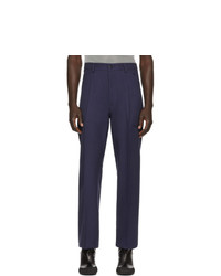 Random Identities Navy High Rise Trousers