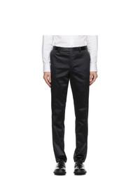 Paul Smith Navy Satin Soho Trousers