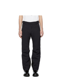 MONCLER GRENOBLE Navy Tech Sport Recco Ski Trousers