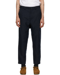 AïE Navy Twill Bng Trousers