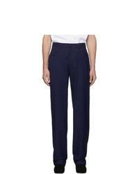 Random Identities Navy Twill Trousers