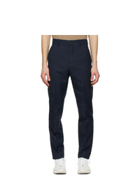 Acne Studios Navy Twill Trousers