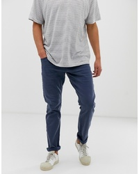 Esprit Slim Fit 5 Pocket Trouser In Navy