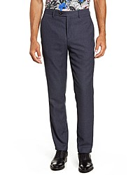 Ted Baker London Slim Fit Diamond Weave Pants