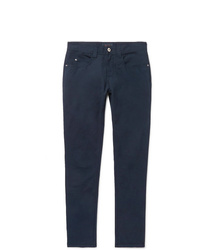 Loro Piana Slim Fit Stretch Cotton Trousers
