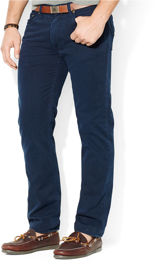 ... Polo Ralph Lauren Straight Fit 5 Pocket Chino Pant