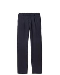 Loro Piana Virgin Wool Blend Drawstring Trousers