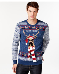 American Rag Born 2 Ride Holiday Sweater Only At Macys