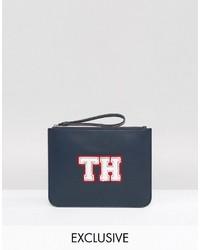 Tommy Hilfiger Wristlet Clutch Bag In Navy