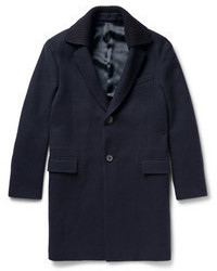 Lanvin Boiled Wool Overcoat