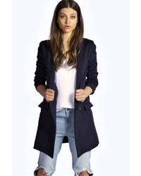 Boohoo Lily Chuck On Wool Coat