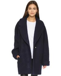 Nicholas Brushed Wool Oversized Coat