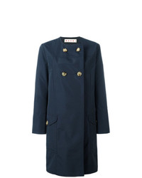 Marni Collarless Buttoned Coat