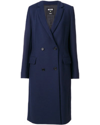 MSGM Double Breasted Coat