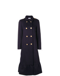 RED Valentino Double Breasted Flared Coat