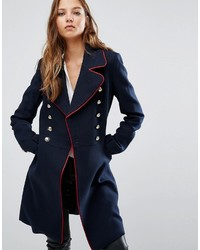 Mango Double Breasted Military Coat