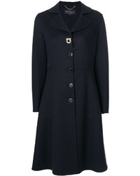 Salvatore Ferragamo Flared Hem Coat