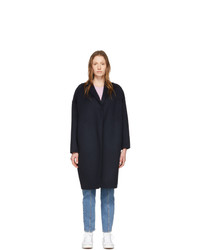 Stella McCartney Navy Wool Bilpin Coat