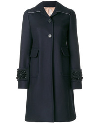 No21 sequinned cuffs coat medium 5146077