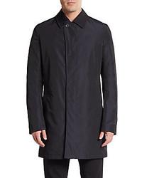 Saks Fifth Avenue Reversible Wool Blend Coat