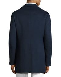 Loro Piana Short Cashmere Three Button Coat