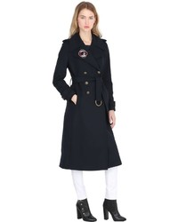 Tommy Hilfiger Tommy X Gigi Wool Blend Military Coat