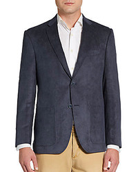 Saks Fifth Avenue BLACK Classic Fit Corduroy Sportcoat