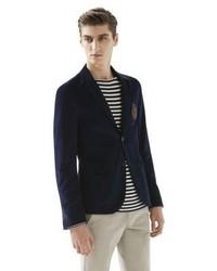Gucci Fine Corduroy Schoolboy Jacket